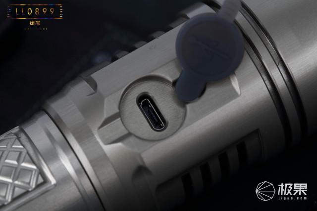 迈特明酷TK01手电筒评测,续航持久战术范