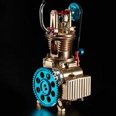 土星文化 V12 单缸发动机组装模型