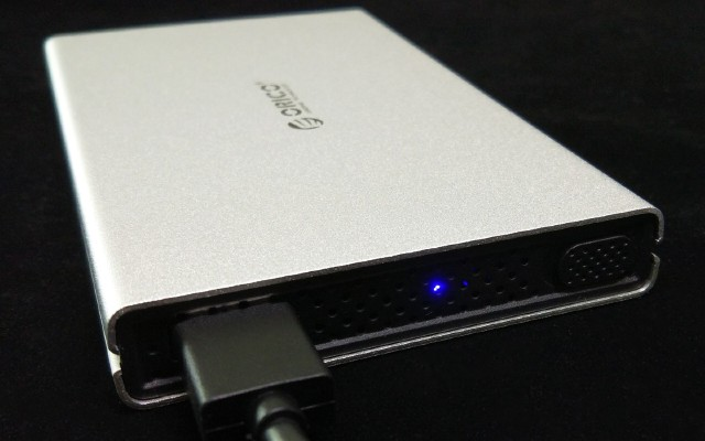 给老旧硬盘一个好的归宿,滑盖式2528U3-SV金属硬盘盒