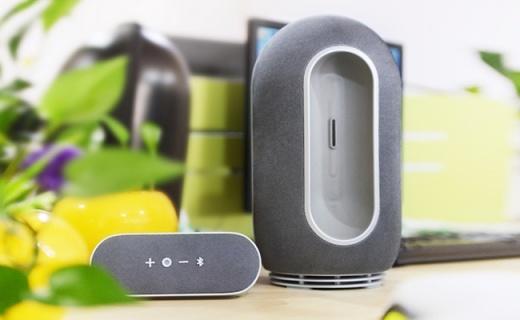 灵感来自袋鼠的音箱,一台秒变2台兼顾音质和便携