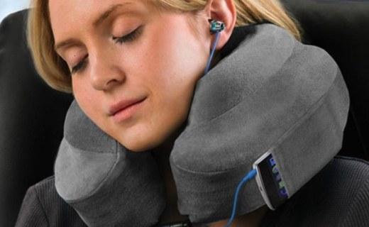 Cabeau护颈枕:慢回弹记忆棉舒适柔软,工学设计缓解压力
