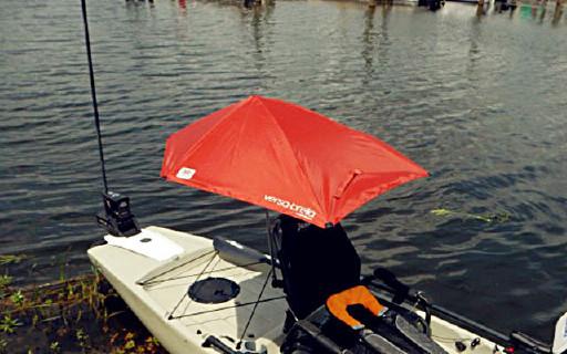 车上船上都能安的运动折叠伞,Sport-Brella轻便耐用还防紫外线