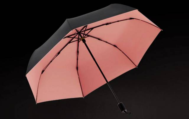 KnirpsX1德国折叠手动伞迷你五折伞男女士晴雨两用伞红点设计奖
