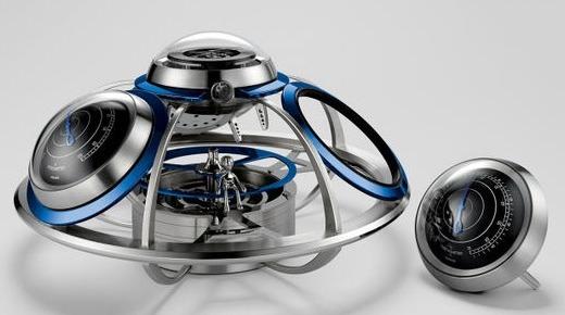 售价35万人民币,L'Epée推出形似飞船的机械钟表