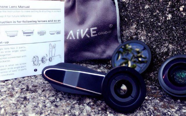 手心大小的镜头,却让手机拍摄也能秒杀单反 — AiKE 4K三合一手机镜头体验 | 视频