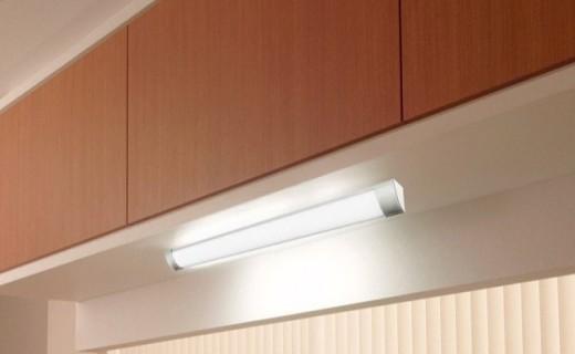 松下橱柜感应灯:LED内置电源,即插即用,安心安全