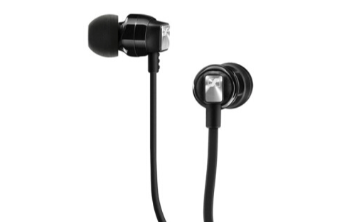 森海塞尔入耳式耳机 :低音饱满音质出众,防缠绕耳机线