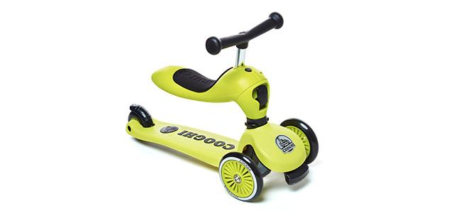 COOGHI儿童滑板车,一车两玩同时满足三个愿望