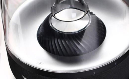 哈曼卡顿无线蓝牙音箱:下沉式低音炮设计,好听更好看