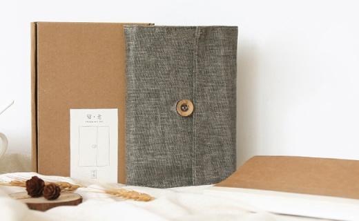 Kinbor手账本:亚麻外壳手感好,记账日记用它很带感