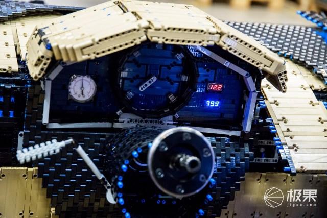 史上首辆!乐高打造1:1比例布加迪超跑亮相,还能跑最高时速20km/h