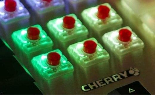 能塞进笔记本, Cherry推出机械键盘小型轴体