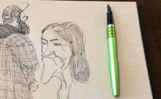 百乐MR Retro Pop钢笔:轻巧好握持,书写顺滑不卡顿
