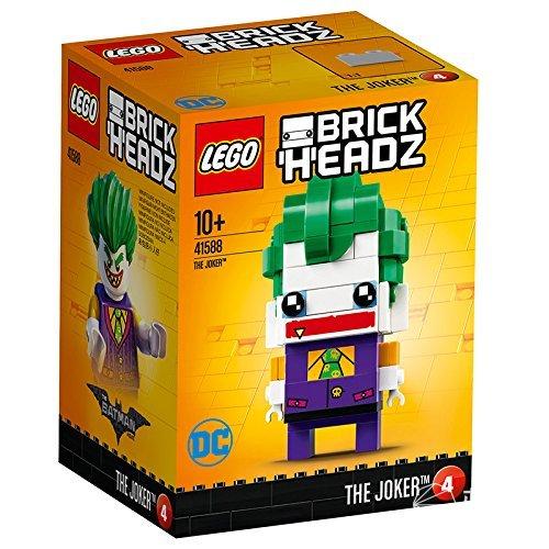 乐高(LEGO)BrickheadzTheJoker【8月新品】LEGO乐高拼插类玩具Brickheadz大头仔系列TheJoker小丑Brickheadz10-99岁积木玩具