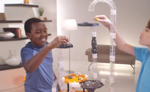 美国hexbug漩涡玩具套装:欧美孩子都在玩,激发无限想象力