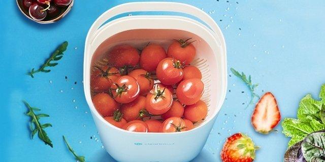 小荷超声果蔬清洗机与臭氧洗菜机和果蔬盐功效大PK!