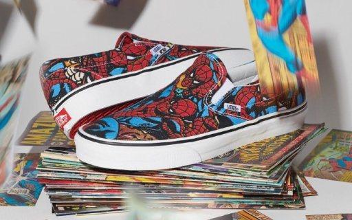 Vans推出一系列漫威联名款:不止休闲鞋,品种丰富