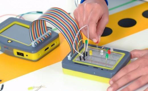 可以教孩子学编程的游戏机,编程要从娃娃抓起!