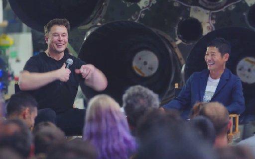 SpaceX火箭绕月乘客起底:日本亿万富豪,挥金如土疯似马斯克