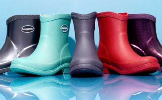 哈瓦那Galochas短雨靴:天然橡胶柔韧耐用,桑巴气息雨天也时尚