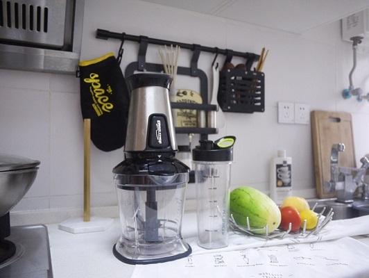 搅拌榨汁都能做的多功能料理机,厨房必备神器   视频