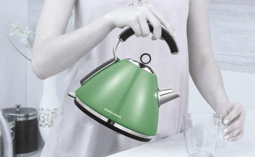 摩飞MR7456A水壶:80周年纪念款,圆滑壶身握感舒适