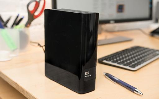 西部数据My Book桌面外置硬盘,8TB容量再多老师也能住得下