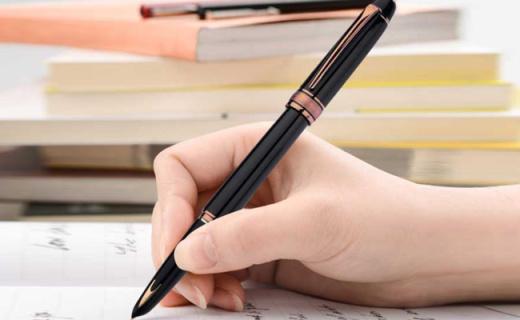 英雄经典100钢笔:精致14K金海豚笔尖,经典奢华书写流畅