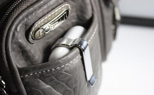 有了这个小夹子,再也不怕弄丢Airpod充电盒了