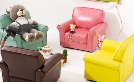 顾家家居简约沙发:糖果色柔软舒适,屁股坐下不想起