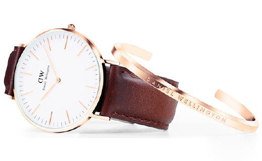 DW不出手表出手镯,轻奢简约时尚