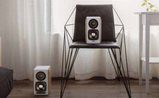 漫步者S880音箱:原木材质高颜值,XMOS芯片音质优秀