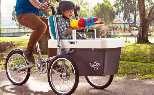 可以骑的变形金刚婴儿车,购物遛狗也在行