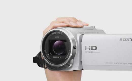 索尼HDR-CX680摄像机:30倍光学变焦,5轴防抖支持跑动追拍