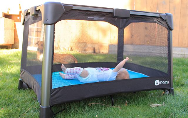 4MomsBreeze折叠儿童游戏床