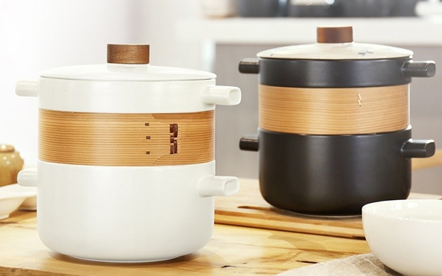 道福耐热陶瓷砂锅 叠叠锅