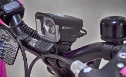 长距离骑行亦无电量困扰,纳丽德B20自行车灯体验
