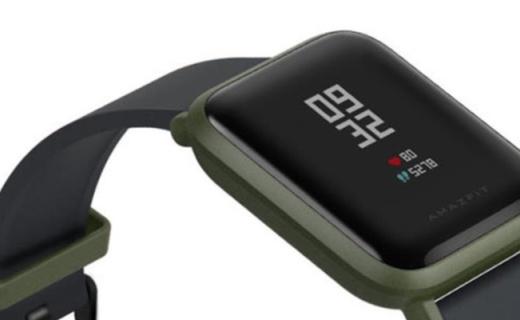 待机长达45天,Amazfit Bip智能手表上市,99美元
