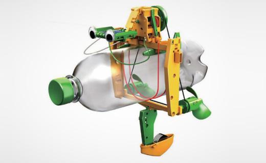 OWI太阳能回收站玩具:全自然光供电,增强孩子环保理念