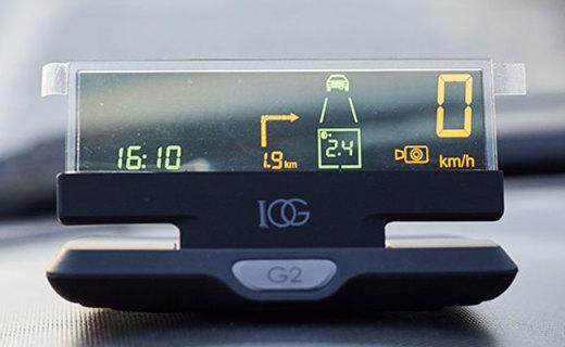 欧果 G2-HUD行车助手,查看车况不低头,保驾护航它都行