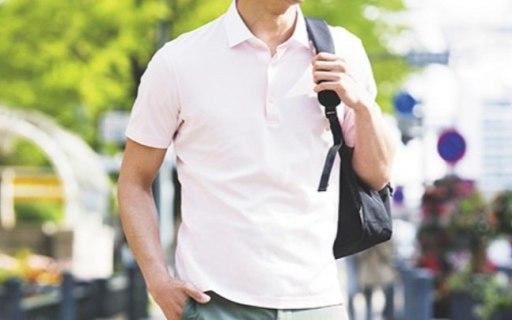 优衣库衬衫领POLO衫:舒适面料透气快干,经典款利落有型