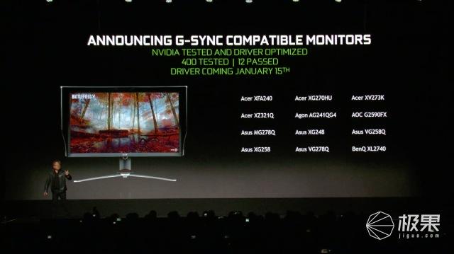 NVIDIA宣布免费G-Sync技术,可支持所有Freesync显示器