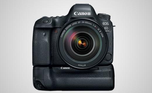 佳能二代6D,2600W像素对焦更好操控更细腻