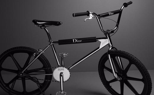 Dior Homme推出跨界单品自行车,设计时尚典雅
