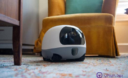 別讓你家二哈拆家了,VAVA的寵物機器人,陪伴寵物神器!