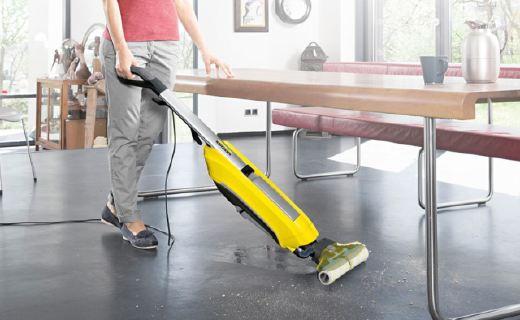 凯驰FC5清洁一体机:扫地拖地同时完成,打扫快速特别省水