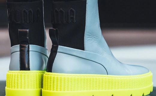 Rihanna x PUMA,这款一千多的雨靴我收下了
