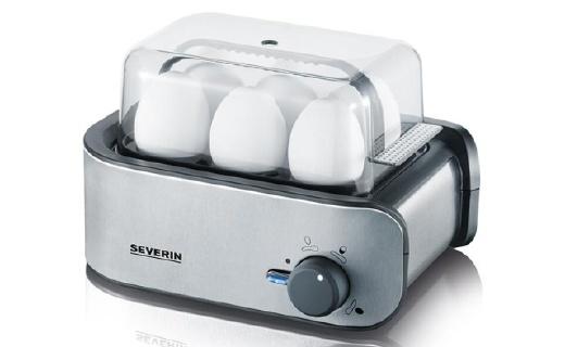 森威朗多功能煮蛋器:六槽智能煮蛋器,大容量设计,多档位调节