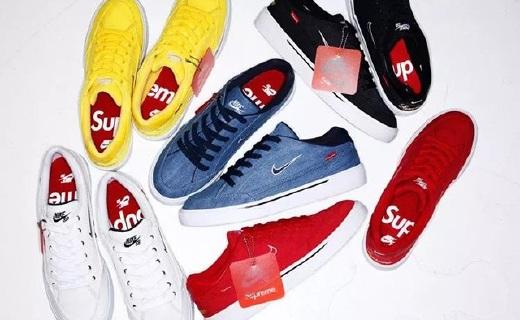 Supreme又来圈钱了!耐克联名款板鞋发布