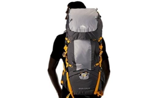容量大还轻巧,高山这款户外背包全新透气背板让你一路清凉